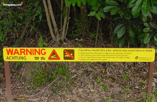 Advertencia De Croc, Australia