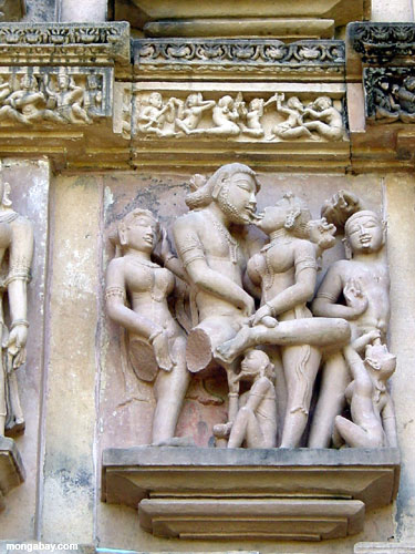 Kama Sutra Carvings